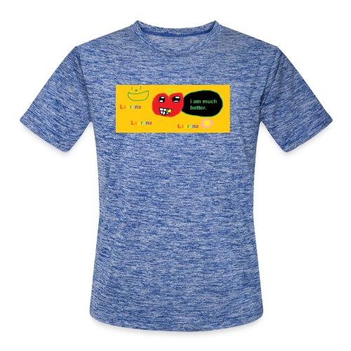 pechy vs apple - Men's Moisture Wicking Performance T-Shirt