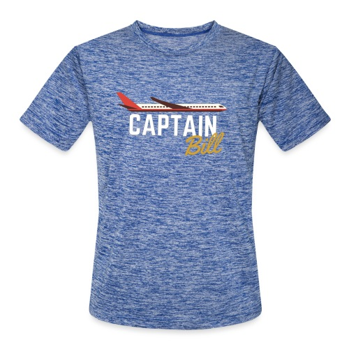 Captain Bill Avaition products - Men's Moisture Wicking Performance T-Shirt
