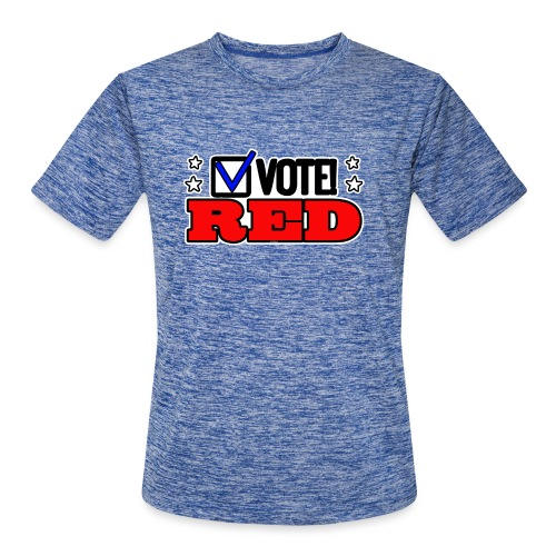 VOTE RED - Men's Moisture Wicking Performance T-Shirt