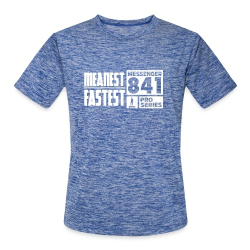 Messenger 841 Meanest and Fastest Crew Sweatshirt - Men's Moisture Wicking Performance T-Shirt