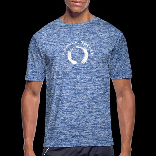 Enso Ring - Asana Spirit - Men's Moisture Wicking Performance T-Shirt