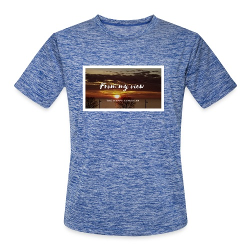 THE HAPPY CANADIAN - Men's Moisture Wicking Performance T-Shirt