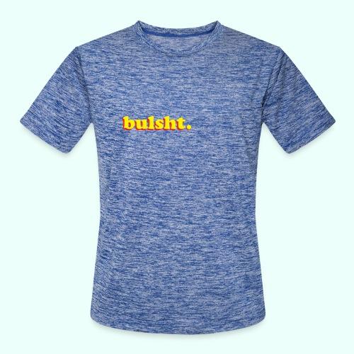 BulSht. Logo - Men's Moisture Wicking Performance T-Shirt