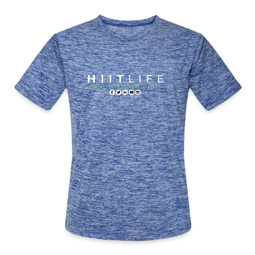 hlfsocialwht - Men's Moisture Wicking Performance T-Shirt