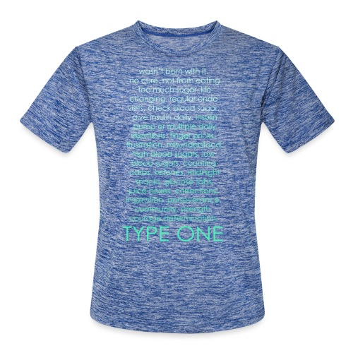The Inspire Collection - Type One - Green - Men's Moisture Wicking Performance T-Shirt