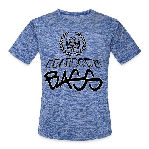 BEATDOWN BLACK LOGO - Men's Moisture Wicking Performance T-Shirt