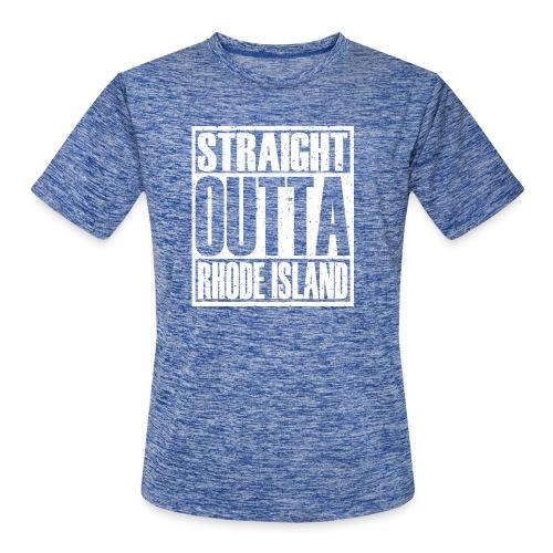 Straight Outta Rhode Island - Men's Moisture Wicking Performance T-Shirt