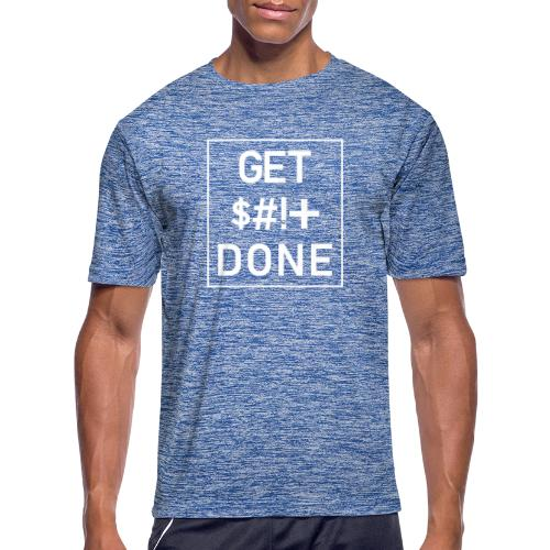 Get Shit Done - Boxed - Men's Moisture Wicking Performance T-Shirt
