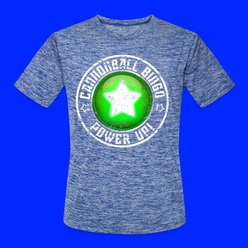 Vintage Power-Up Tee - Men's Moisture Wicking Performance T-Shirt