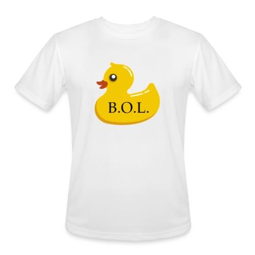 Official B.O.L. Ducky Duck Logo - Men's Moisture Wicking Performance T-Shirt