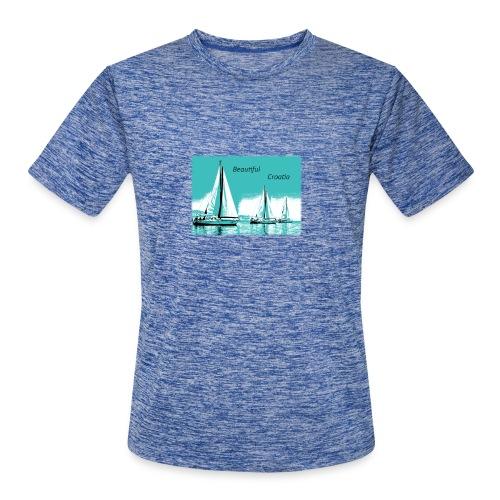 Beautiful Croatia - Men's Moisture Wicking Performance T-Shirt