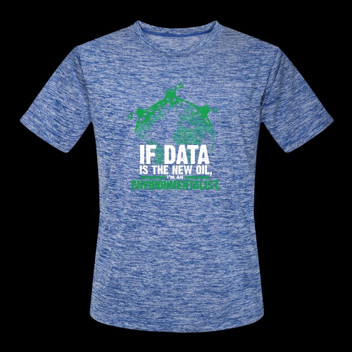 Data Environmentalist - Men's Moisture Wicking Performance T-Shirt