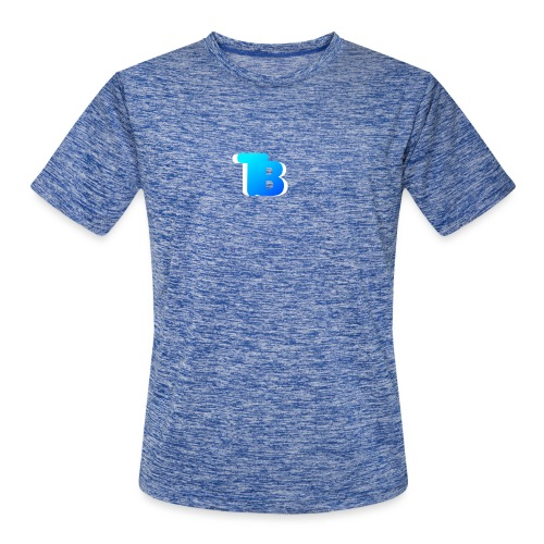 Trublu Overlapping letter Design - Men's Moisture Wicking Performance T-Shirt