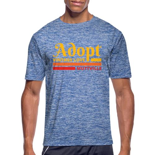Adopt Vintage Love retro colors - Men's Moisture Wicking Performance T-Shirt