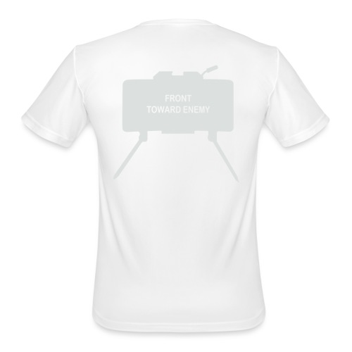 Claymore Mine (Minimalist/Light) - Men's Moisture Wicking Performance T-Shirt