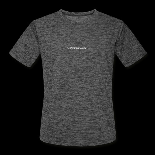 'Black' Aesthetic Anarchy - Men's Moisture Wicking Performance T-Shirt