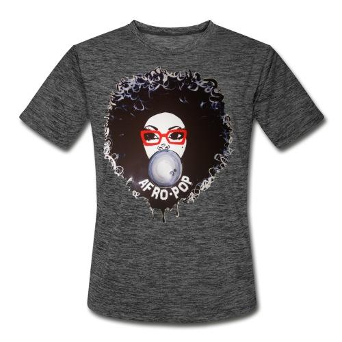Afro pop_ - Men's Moisture Wicking Performance T-Shirt