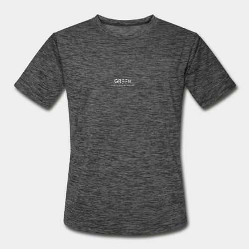 Green/Gorgeous reason evolving, ending never logo - Men's Moisture Wicking Performance T-Shirt