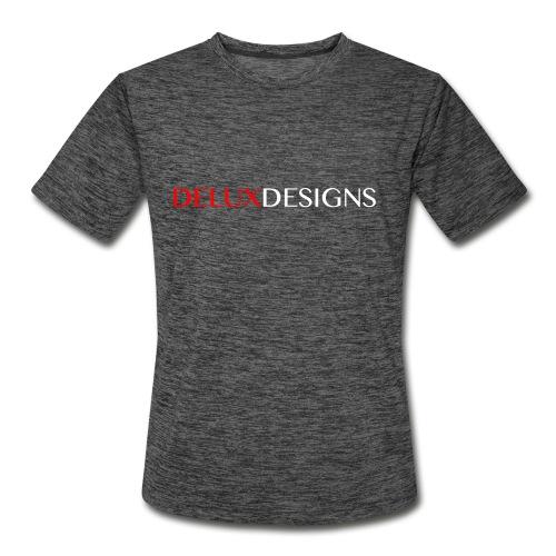 Delux Designs (white) - Men's Moisture Wicking Performance T-Shirt