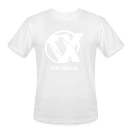 Vlex Stay Awesome Shirt (Officiel) - Men's Moisture Wicking Performance T-Shirt