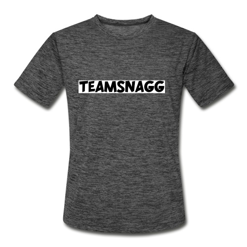 TeamSnagg Logo - Men's Moisture Wicking Performance T-Shirt