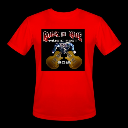 RocknRide Design - Men's Moisture Wicking Performance T-Shirt