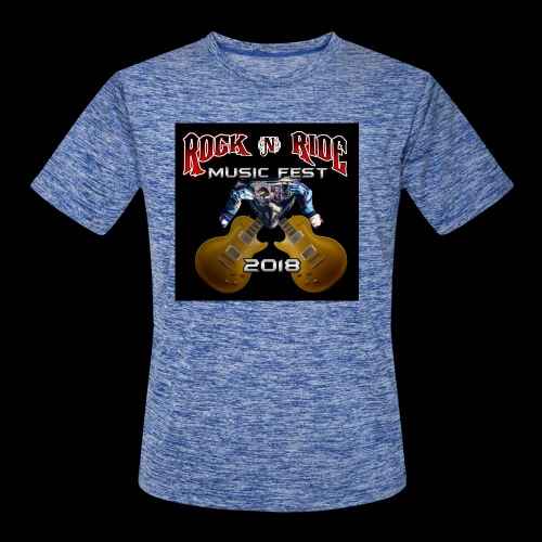 RocknRide Design - Men's Moisture Wicking Performance T-Shirt