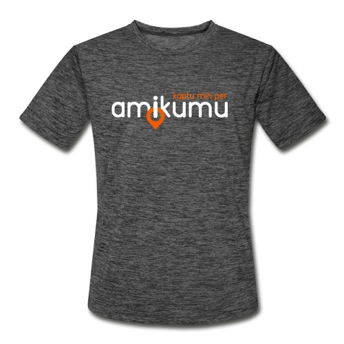 Kaptu min per Amikumu Blanka - Men's Moisture Wicking Performance T-Shirt