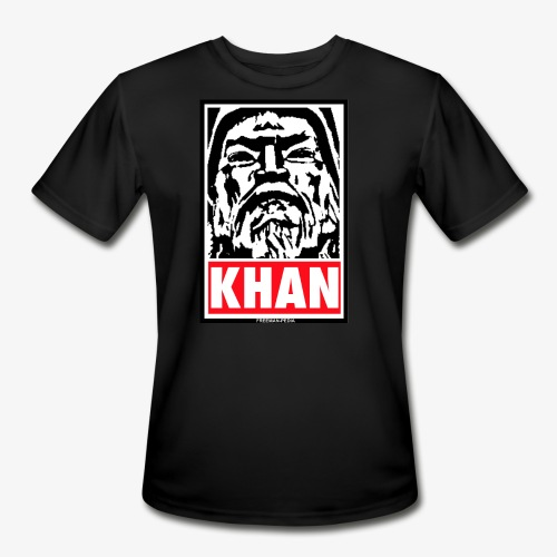 Obedient Khan - Men's Moisture Wicking Performance T-Shirt