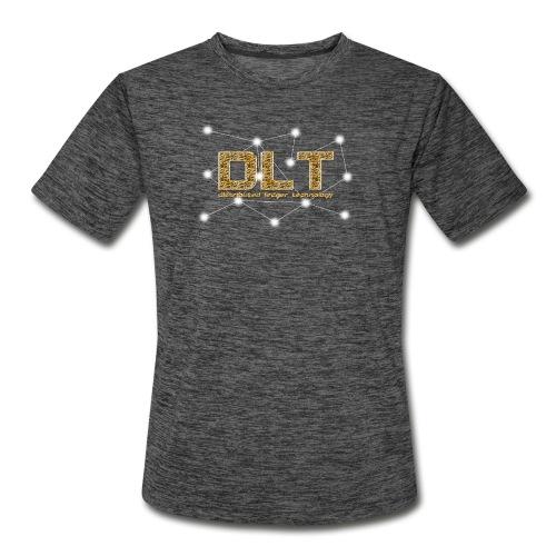 DLT - distributed ledger technology - Men's Moisture Wicking Performance T-Shirt