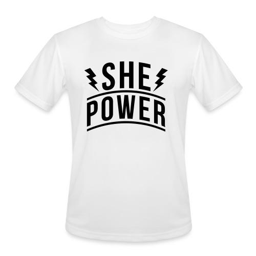 She Power - Men's Moisture Wicking Performance T-Shirt