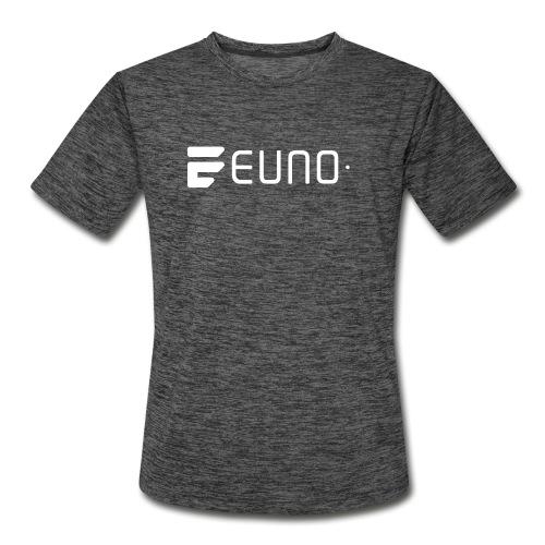 EUNO LOGO LANDSCAPE WHITE - Men's Moisture Wicking Performance T-Shirt