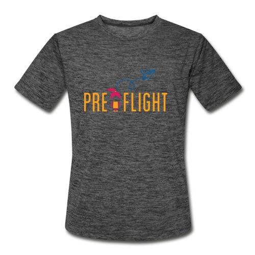 PreFlight Aviation Camp - Men's Moisture Wicking Performance T-Shirt
