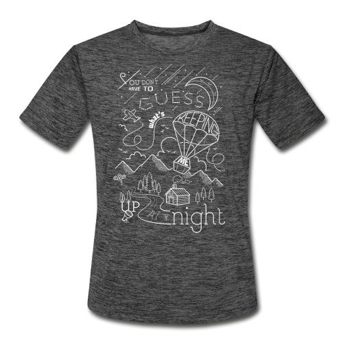 Up at Night Design - Men's Moisture Wicking Performance T-Shirt