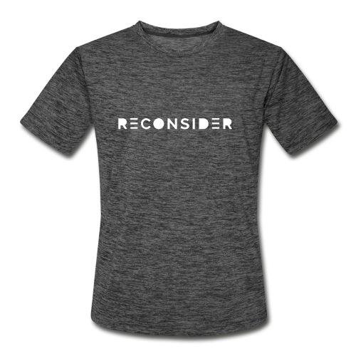 Reconsider - Men's Moisture Wicking Performance T-Shirt