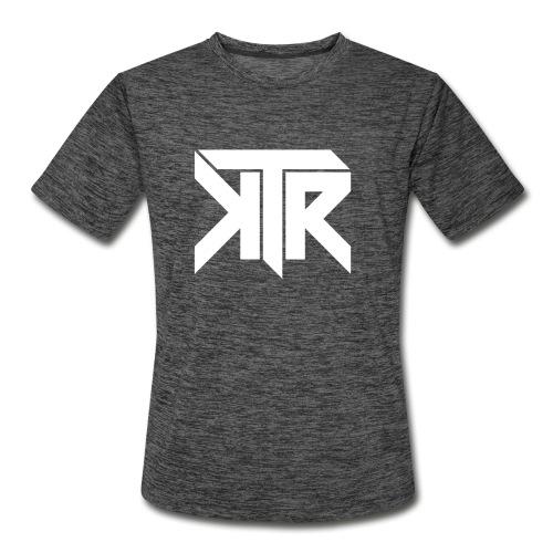 KTR Logo White - Men's Moisture Wicking Performance T-Shirt