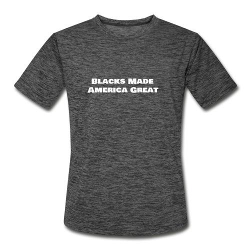 blacks_made_america2 - Men's Moisture Wicking Performance T-Shirt