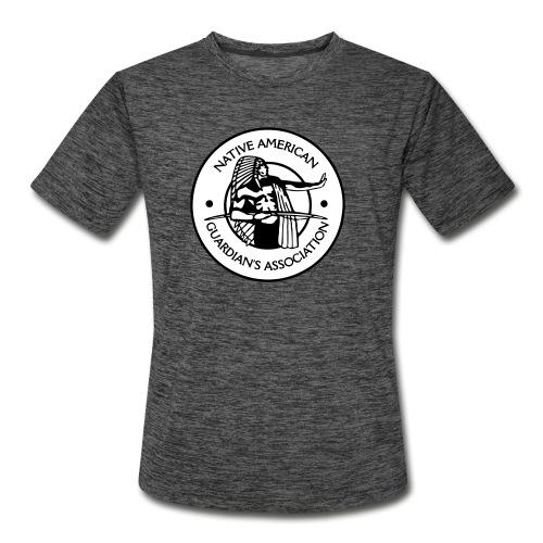 NAGA Logo - Men's Moisture Wicking Performance T-Shirt