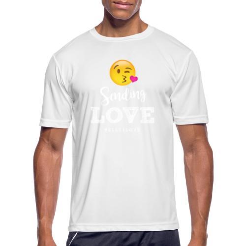 Sending Love - Men's Moisture Wicking Performance T-Shirt