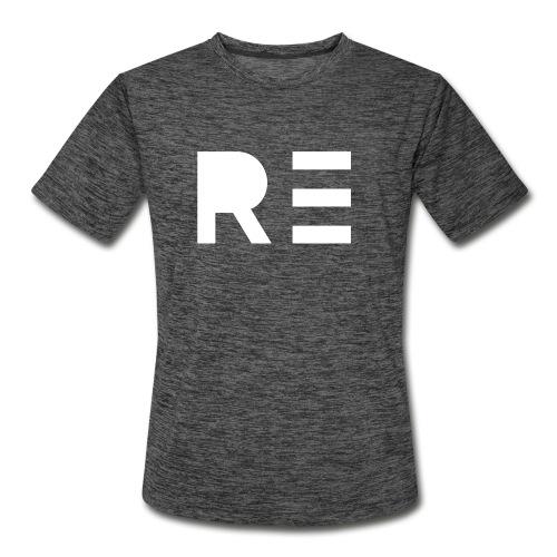 RE Logo - Men's Moisture Wicking Performance T-Shirt