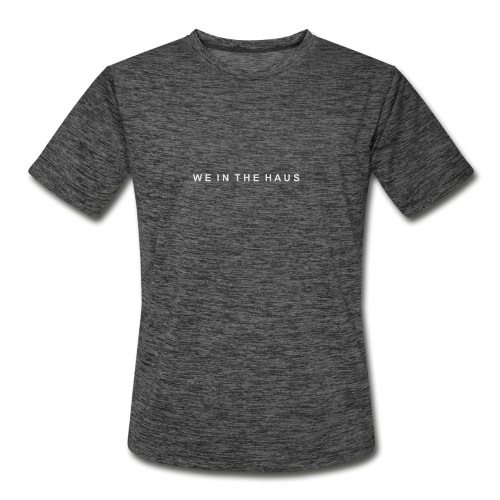 We In The Haus Logo - Men's Moisture Wicking Performance T-Shirt