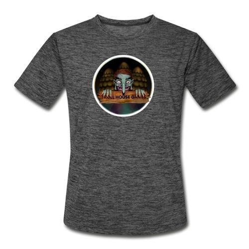 Troll House Games Logo - Men's Moisture Wicking Performance T-Shirt
