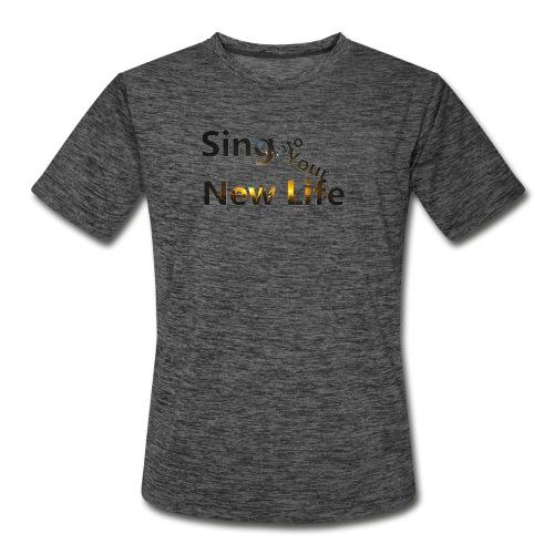 Sing in Brown - Men's Moisture Wicking Performance T-Shirt