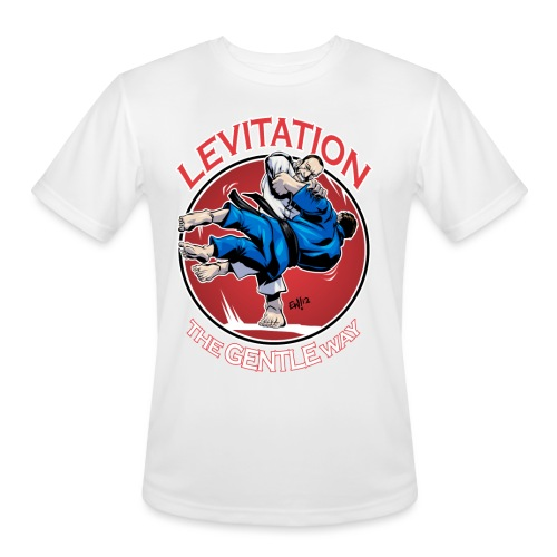 Judo Levitation for dark shirt - Men's Moisture Wicking Performance T-Shirt