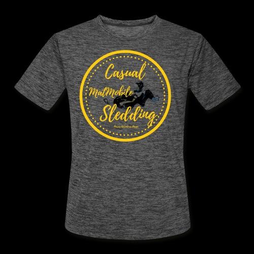 Casual MatMobile Edition - Men's Moisture Wicking Performance T-Shirt