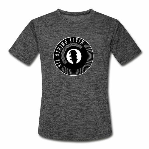 Six String Living - Men's Moisture Wicking Performance T-Shirt