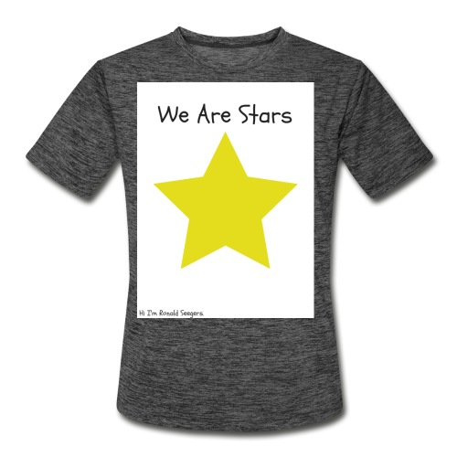 Hi I'm Ronald Seegers Collection-We Are Stars - Men's Moisture Wicking Performance T-Shirt