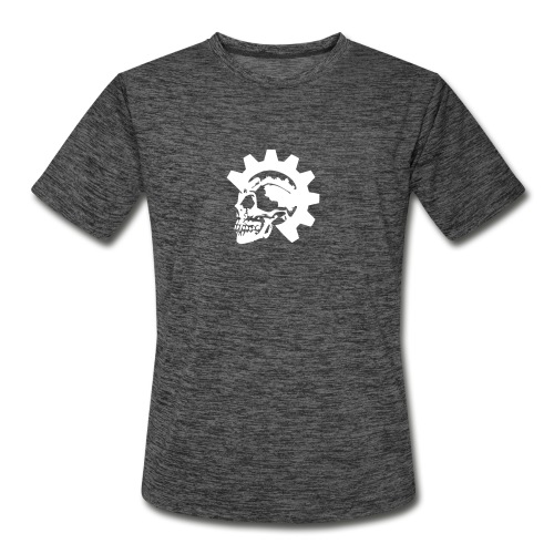 Gearhead Skull - Men's Moisture Wicking Performance T-Shirt