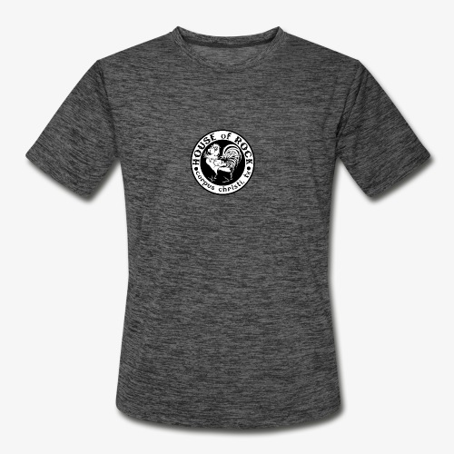 House of Rock round logo - Men's Moisture Wicking Performance T-Shirt