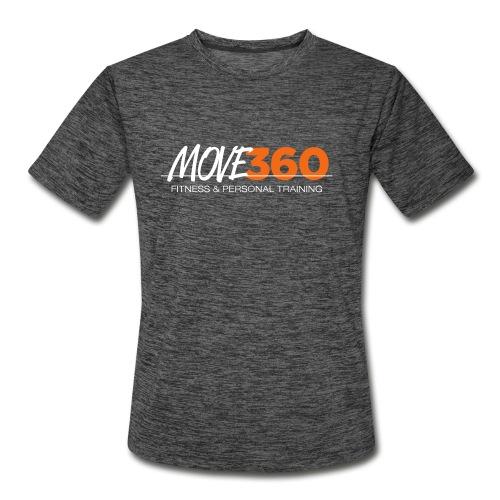 Move360 Logo LightGrey - Men's Moisture Wicking Performance T-Shirt